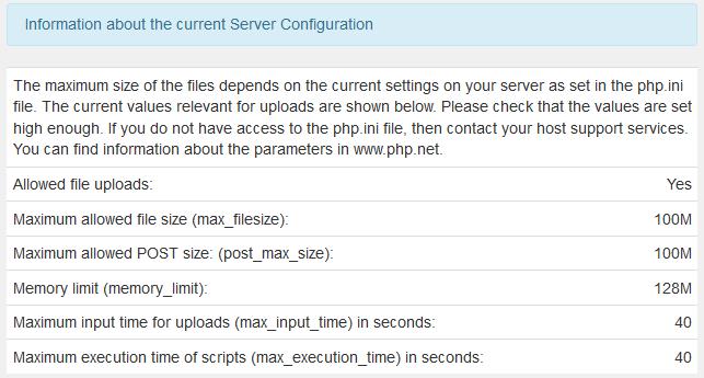 admin stats server