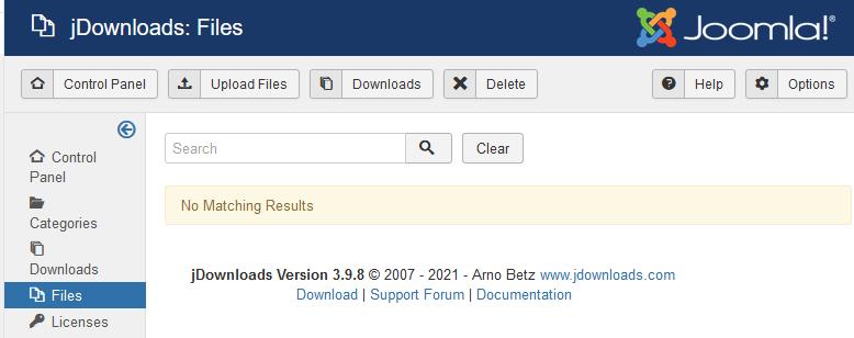 files select20