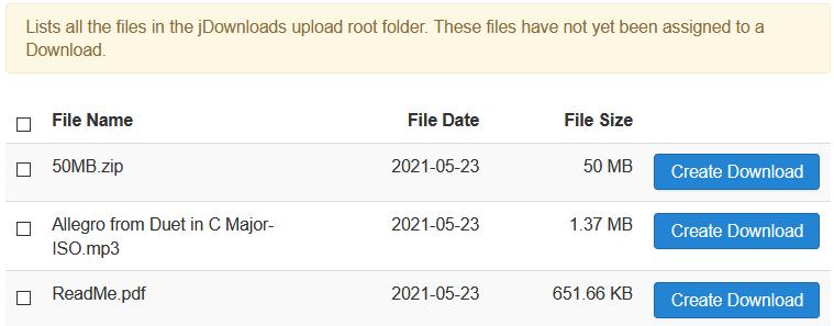 files select05