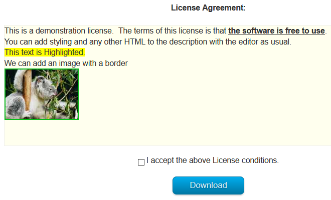 add license04