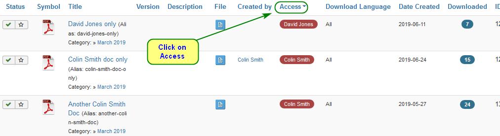 single access 09