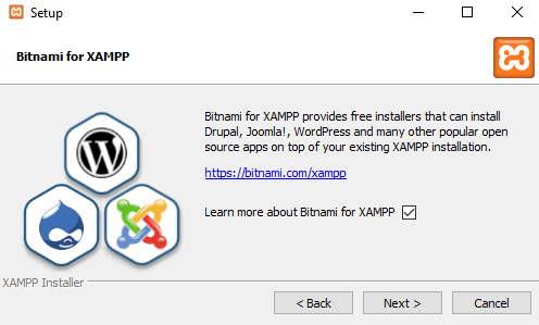 xampp instal07