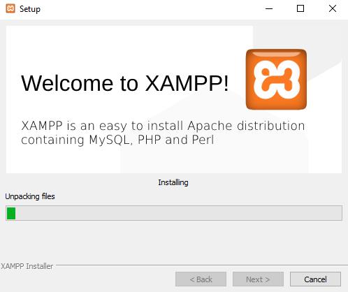 xampp instal08