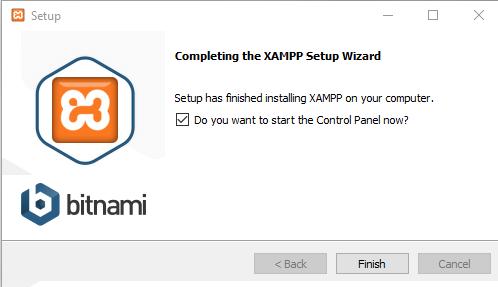 xampp instal09