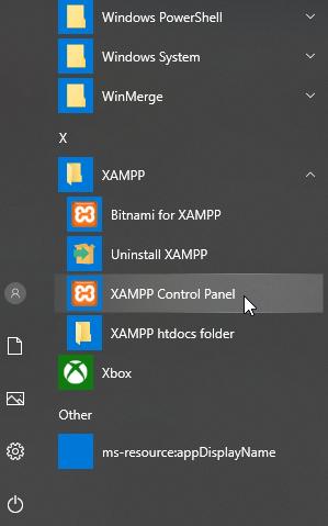 xampp instal11